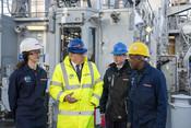 Naval Ships - Chairman visit to Govan, 2020