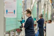 Air - Employees at work, Samlesbury