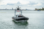 P24 autonomous boat with new Royal Navy brand (June 2020)