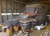 Naval Ships - Type 26 in build