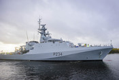 HMS Spey Portsmouth Arrival PNB