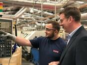 Land UK- Director and employee, shopfloor